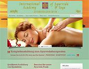 Link zur Internetseite des Ayurvedazentrums